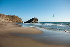 Stranden #Monsul i nationalparken Cabo de Gata-Nijar i #Almería.