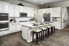 White Kitchens: Always In Style. | Allman Model Home | Mesa, Arizona |
