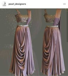 Top collection of Indian Wedding Sarees. Pin it and share. Saree Designs Party Wear, Lehenga Designs, Designer Party Wear Dresses, Indian Designer Outfits, Indian Wedding Outfits, Indian Outfits, Stylish Dresses, Fashion Dresses, Saree Gown