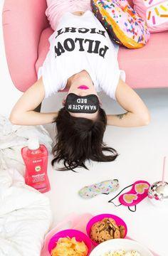 How to make DIY sleep masks.