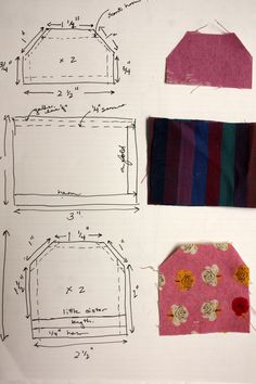 pictorial - how to sew maileg mouse dresses