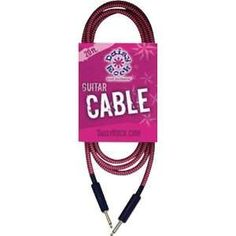 Daisy Rock Daisy Rock 20 ft. Guitar Cable   Pink/Black