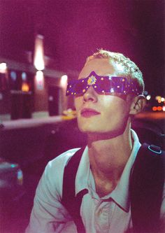 Ryan McGinley . OLIVER (3-D GLASSES), 2002