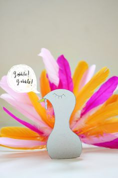 diy: cardboard roll turkey. a fun kid craft thanksgiving project!