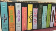 Mississippi School's Literary Lockers Give 'Cool Factor' to Reading -- PHOTO:Teachers and volunteers at Biloxi Junior High School painted lockers to look like books.