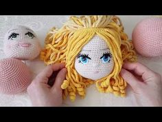 New Haircut Styles – Hair Cut Models And Styles Crochet Eyes, Crochet Girls, Cute Crochet, Crochet Doll Pattern, Crochet Toys Patterns, Doll Patterns, Crochet Doll Clothes, Crochet Videos, Crochet Hair Styles