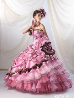 Ems gown it even comes with wings and mask will post soon k Stunning Dresses, Beautiful Gowns, Pretty Dresses, Ball Dresses, Ball Gowns, Prom Gowns, Pretty Quinceanera Dresses, Fairytale Dress, Beautiful Costumes