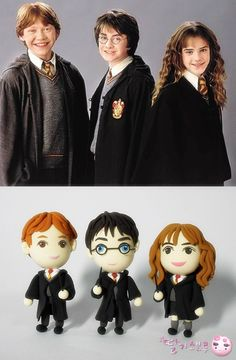 How to make Clay Art harry potter DIY step by step tutorial instruction===>Click the image to see more detail information. Harry Potter Book Covers, Harry Potter Cake, Harry Potter Memes, Harry Potter Cupcake Toppers, Gateau Harry Potter, Clay Crafts For Kids, Potters Clay, Sleepover Birthday Parties, Diy Step By Step