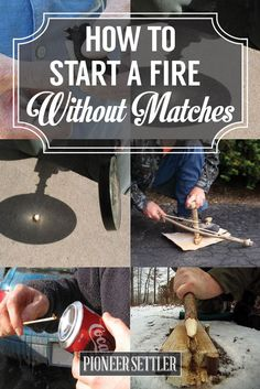 DIY FIrestarter | Preparedness Skills and Ideas by Pioneer Settler at http://pioneersettler.com/start-fire-without-matches/