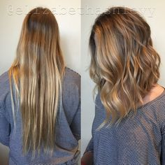 Lob | Transformation Tuesday | A - line cut | Bescene | Elizabethashleyy