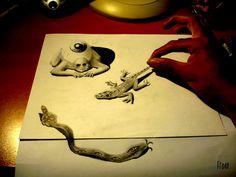 3D pencil art | 3d pencil art_5