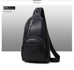 0f57974ff36f Кожа груди пакет человек склонен дорожная сумка для отдыха модные кожаные  мужской хан издание сумка на плечо купить на AliExpress
