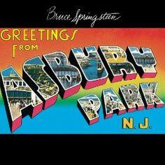 Bruce Springsteen, Greetings from Asbury Park, N.J.