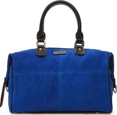 Porter Slouchy Suede Electric Blue #Handbags #Paul's Boutique #fashion #obsessory #fashion #lifestyle #style #myobsession