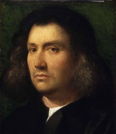 Portrait of a Man. Giorgione. 1508. Oil on panel. 30 x 26 cm. Fine Arts Gallery. San Diego.