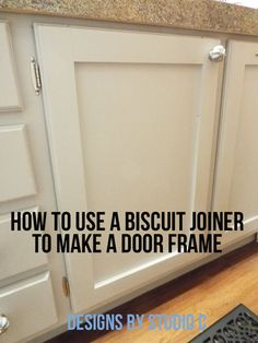 An Easy Way to Make a Door Frame with a Different Tool