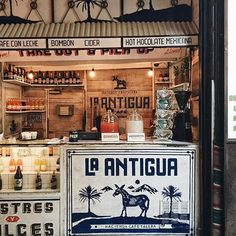 I like the La Antigua logo on the bar.