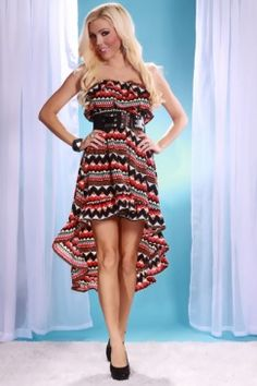 This has to be one of my favorite cut style for a dress. Long in the back short in the front!!!