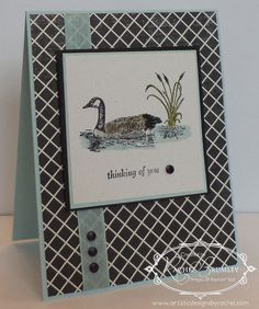 December 22, 2014 Artistic Designs by Rachel: Stampin' Up! Moon Lake, Stack with Love DSP Stack