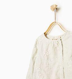 ZARA - SALE - Embroidered shirt