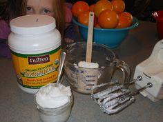 DIY Coconut Oil Cream Lotion, Peppermint Sugar Body Scrub, Natural Shampoo, Deodorant