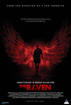 Friday: 'The Raven' - John Cusack is Edgar Allen Poe in a fictionalised serial killer story.