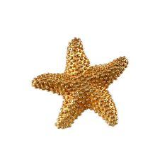 "3/4"" Nubby Starfish Pendant with Hidden Bail"