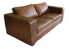 Westermann Couch. Available in Bovine, Chestnut Oil Pull Up