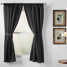 Wayfair Basics Wayfair Basics Rod Pocket Curtain Panels Color: Evergreen