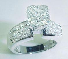 Big Diamond Wedding Rings | radiant engagement diamond ring free shipping your diamond search is ...
