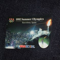 NBA HOOPS 1992 Summer Olympics Barcelona, Spain Trading Card... by TammiesVintageStore on Etsy
