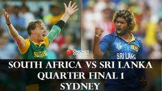 Where to Watch Sri Lanka vs South Africa Live Streaming Quarter Final Cricket World Cup 2015. You may also Watch Online Sri Lanka vs South Africa Quarter Final on Star Sports, Ten Sports, espnlive, in HD, Quality. Star Sports live cricket South Africa vs Sri Lanka.