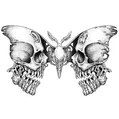 Cool Skull Tattoos For Women – My hair and beauty Tattoo Sketches, Tattoo Drawings, Body Art Tattoos, Art Sketches, Sleeve Tattoos, Drawings Of Skulls, Tattoo Illustrations, Crow Tattoos, Eagle Tattoos