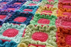 Blanket Crochet Pattern, Doodle Dots, Baby