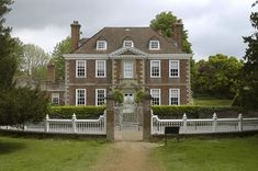 Moot House, Downton Village, Wiltshire,  was built in 1690 and is now a grade one listed building.