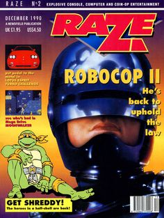 Raze, Issue Number 2, December 1990 - #VideoGames #90s #1990s #1990