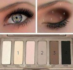 Ideas For Eye Make up.