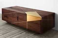 ANAMORPHIC CONSOLE. #interiordesign #casegoodsideas moder home decor, interior design ideas, casegood inspirations. See more at http://www.brabbu.com/en/inspiration-and-ideas/category/trends/interior