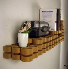 Tube Shelf by Tim Peet at Coroflot.com