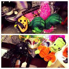 Halloween Dress Up Giant Fuzzy Spider Baby Frank Metal Basket . Shop Showroom Booth Display
