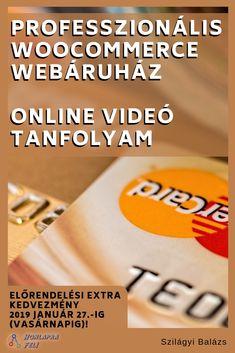 Professzionális WooCommerce webáruház online videó tanfolyam  Azonnal alkalmazható, valóban működő, professzionális webáruházat fogsz építeni és indítani még akkor is, ha még egyáltalán nem értesz hozzá. Tech Companies, Ted, Company Logo, Marketing, Logos, Logo