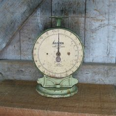 Vintage Salter Scales. Circa 1940s.