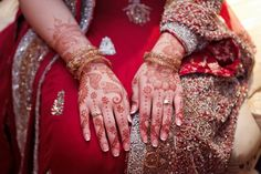 Gorgeous Muslim henna by Carrie Wildes Photography