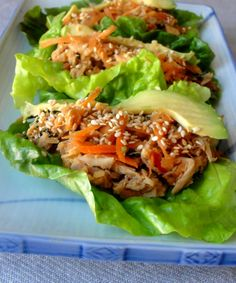 15 Healthy Lettuce Wraps