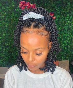 Box Braids Hairstyles, Black Girl Braided Hairstyles, Baddie Hairstyles, My Hairstyle, Twist Hairstyles, Lil Girl Hairstyles, Hairstyles Pictures, Black Women Hairstyles, Summer Hairstyles