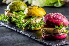 Salmon Burgers, Ethnic Recipes, Food, Salmon Patties, World Days, Recipes, Ideas, Ethnic Food, Kitchens