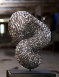 Incredible Bird Feather Sculptures By Kate MccGwire