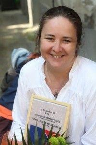 Tóthné Hasilló Annamária 2011-ben elnyerte az Év Bábája címet