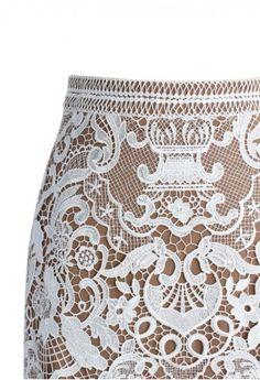 Lace Bud Skirt