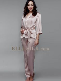 Ladies Silk Sleepwear Champagne ( VIP Fashion Australia  www.vipfashionaustralia.com - international clothes shop af4b42cee